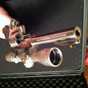 Ruger Super Redhawk chambered in 44 Mag