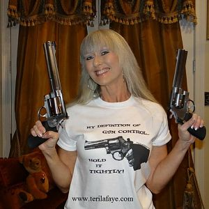 My Definition of Gun Control: hold it tightly!