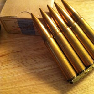 Nazi Germany 8mm Mauser ammo new